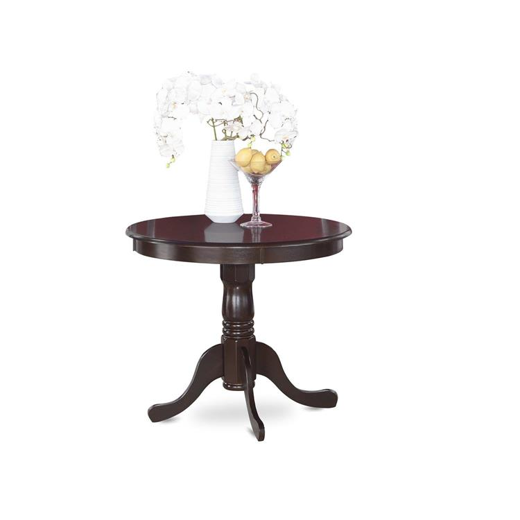East West Furniture ANT-CAP-T Antique Table 36