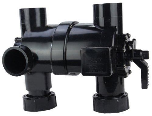 Zodiac 2-in-1 Pre-Plumbed Backwash Valve with Unions Replacement for Jandy DEL Series D.E. Pool and Spa Filters