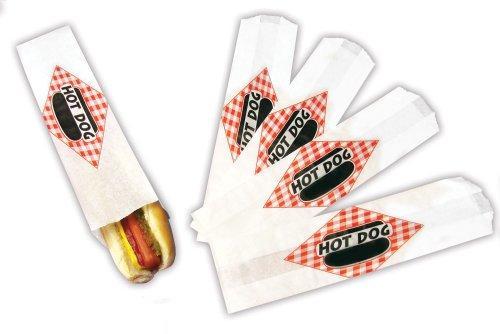 Paragon Hot Dog Paper Bag Foot Long