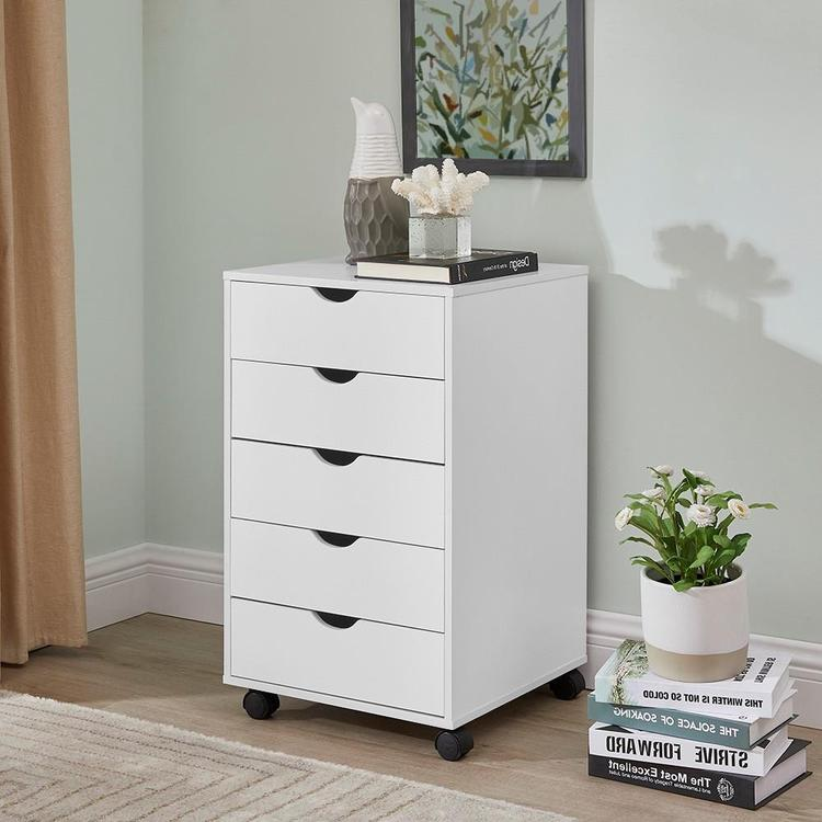 Naomi Home Taylor 5 Drawers Cabinet