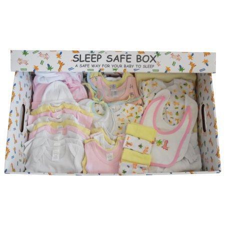 Boy 45 Piece Baby Starter Set Box