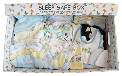 Boy 72 Piece Baby Starter Set Box