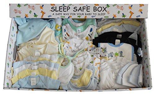 Boy 88 Piece Baby Starter Set Box