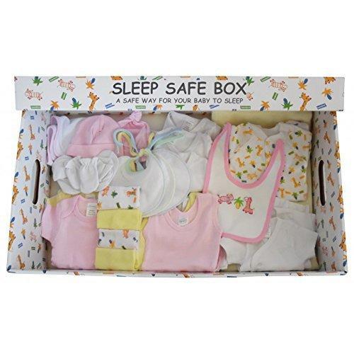Girl 29 Piece Baby Starter Set Box