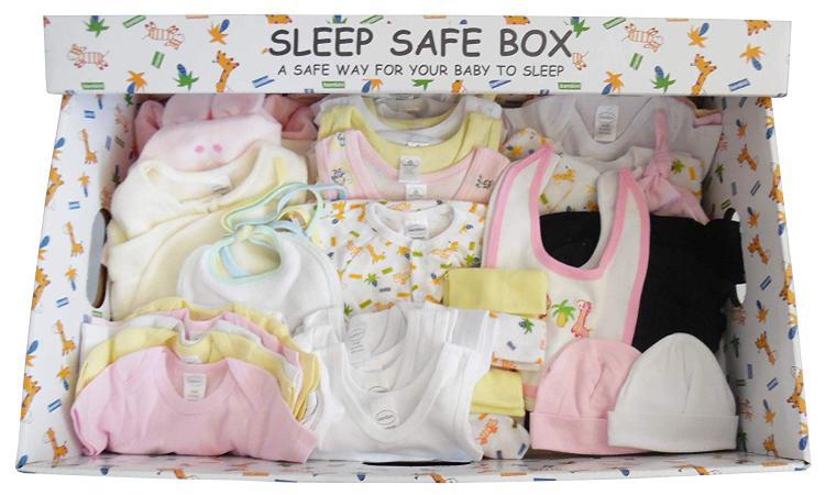 Girl 72 Piece Baby Starter Set Box