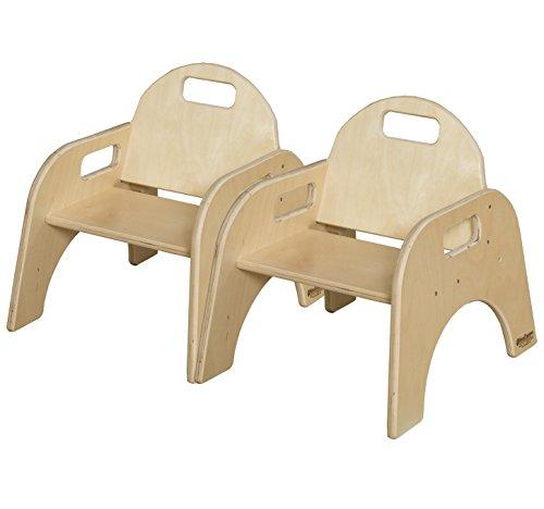Wood Designs Solid Wood Classroom Chair, 7