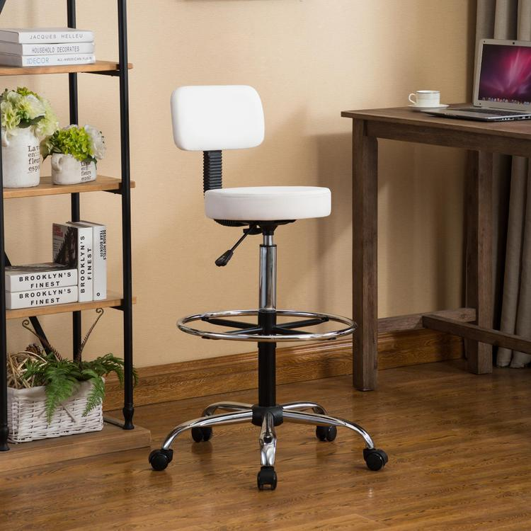 Venus Adjustable Drafting Chair by Naomi Home