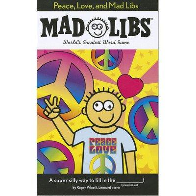 Penguin 80843-18930 Madlibs Peace Love