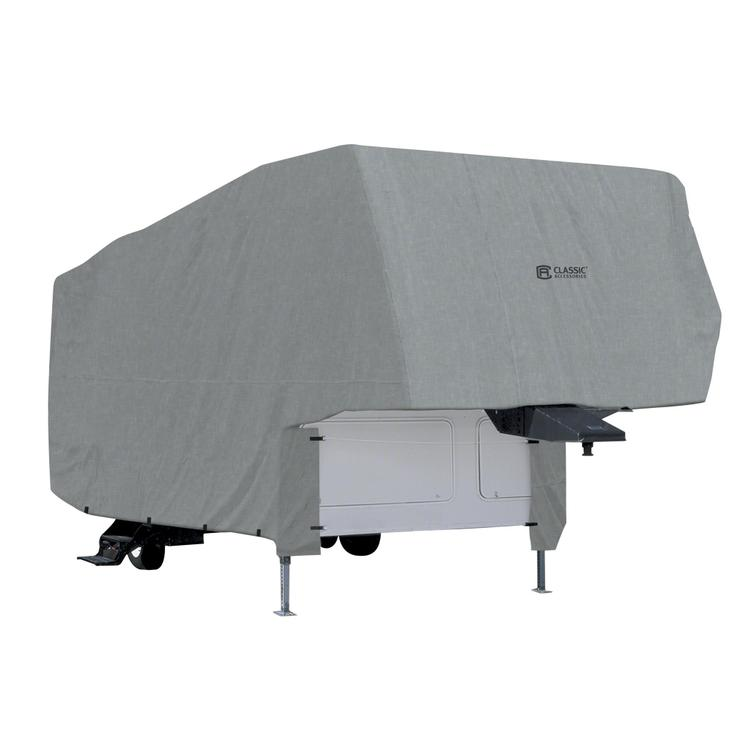 Classic Accessories Overdrive Polypro 1 RV Cover For 5th Wheel Trailer