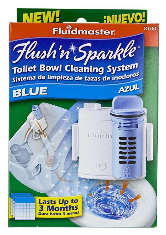 Fluidmaster 8100P8 Flush N Sparkle Syst
