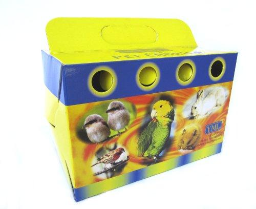 Lot of 100 Cardboard Carrier for Small Animals or Birds, Small