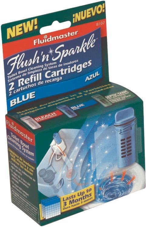 Fluidmaster 8102P8 Flush N Sparkle Refl