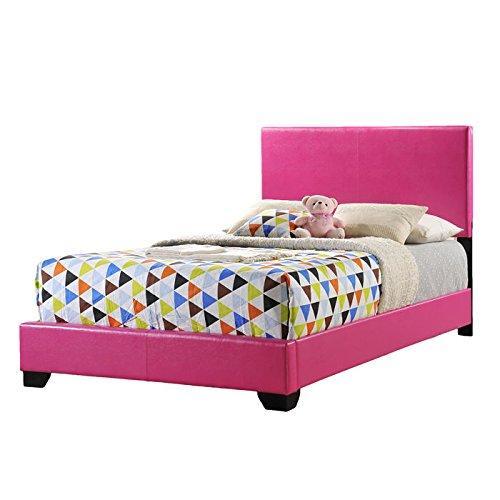 Global Furniture Full Bed Pink