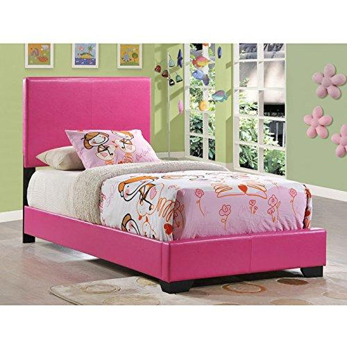 Global Furniture Twin Bed Pink