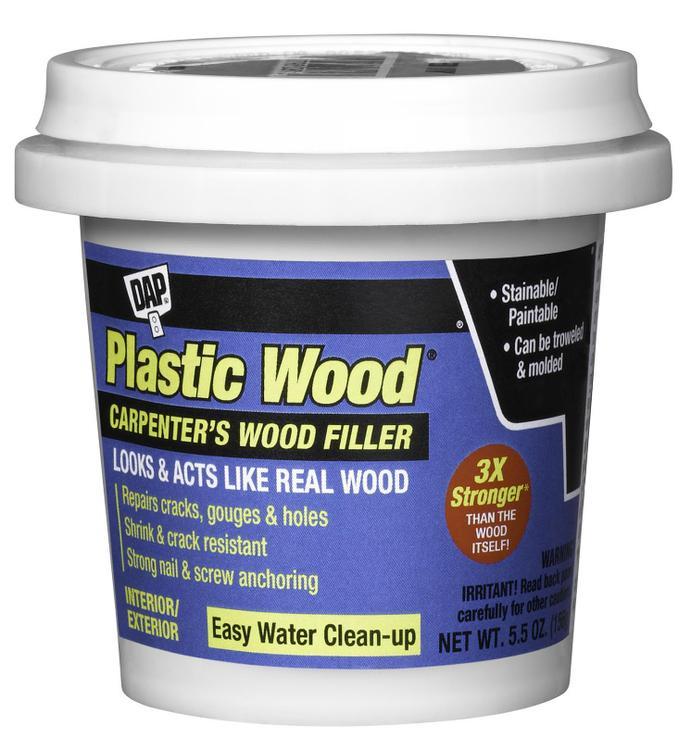 08118 Plastic Wood Latex Walnt