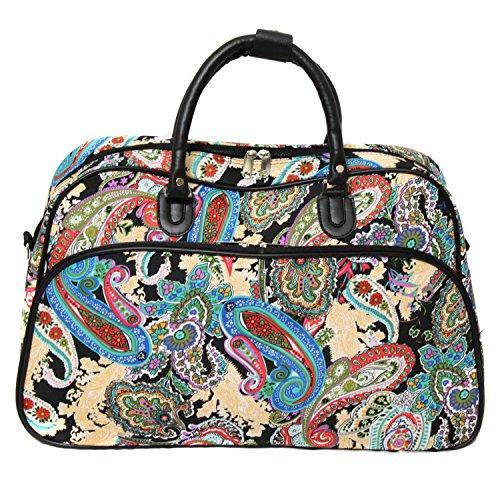 World Traveler 21-inch Carry-on Duffel Bag - Multi Paisley
