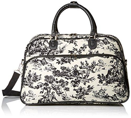 World Traveler 21-inch Carry-on Duffel Bag - Countryside White