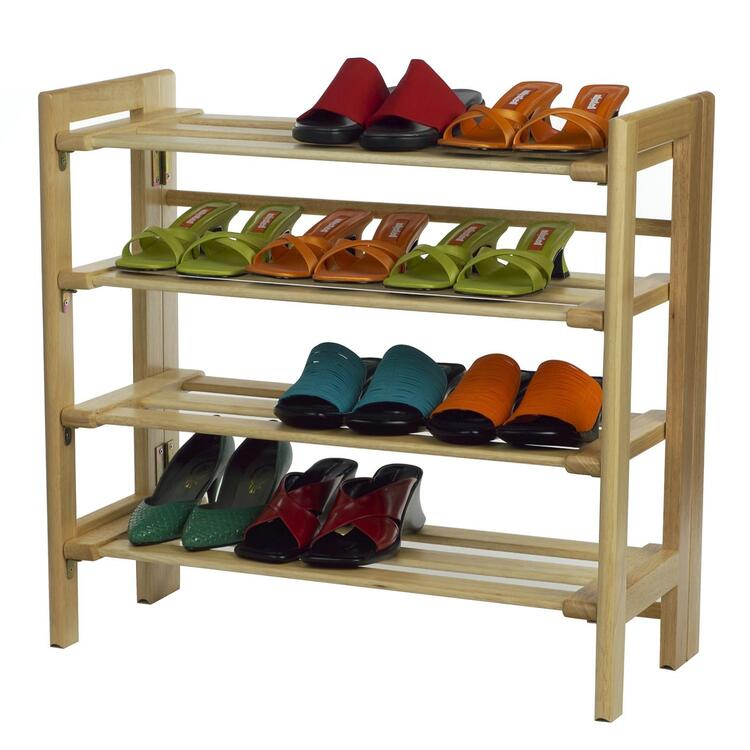 Shoe Rack, 4--Tier
