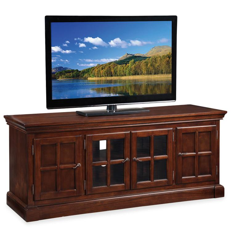 Leick Home Bella Maison TV Console With Lever Handles