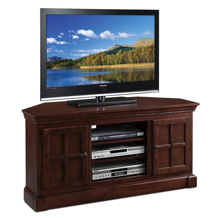 Leick Home Bella Maison Two Door TV Console With Open Component Bay