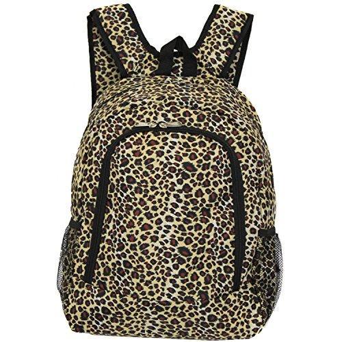 World Traveler 16-inch Multipurpose Backpack - Leopard