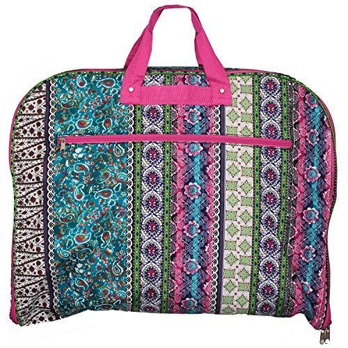 World Traveler 40-inch Hanging Garment Bag - Bohemian