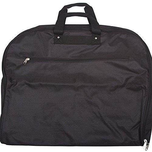 World Traveler 40-inch Hanging Garment Bag - Black
