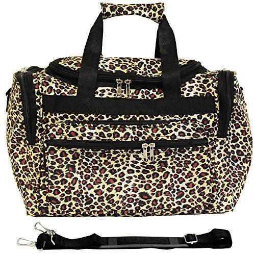 World Traveler 16-inch Carry-On Duffel Bag - Leopard