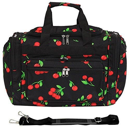 World Traveler 16-inch Carry-On Duffel Bag - Cherry