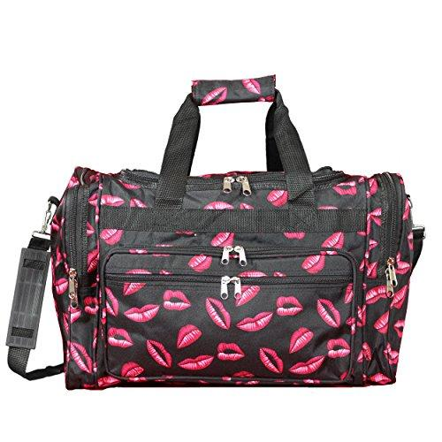 World Traveler 16-inch Carry-On Duffel Bag - Hot Lips
