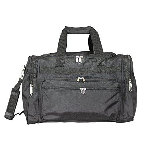 World Traveler 16-inch Carry-On Duffel Bag - Black