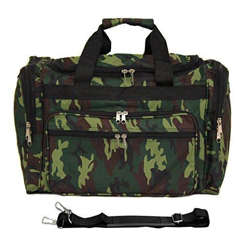 World Traveler 19-inch Carry-On Shoulder Duffel Bag - Green Camo