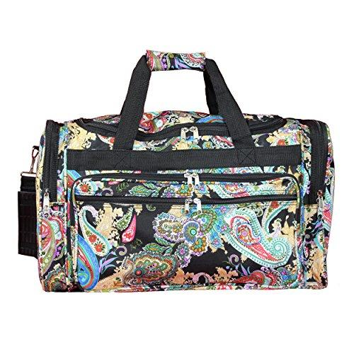 World Traveler 22-inch Travel Duffel Bag - Multi Paisley