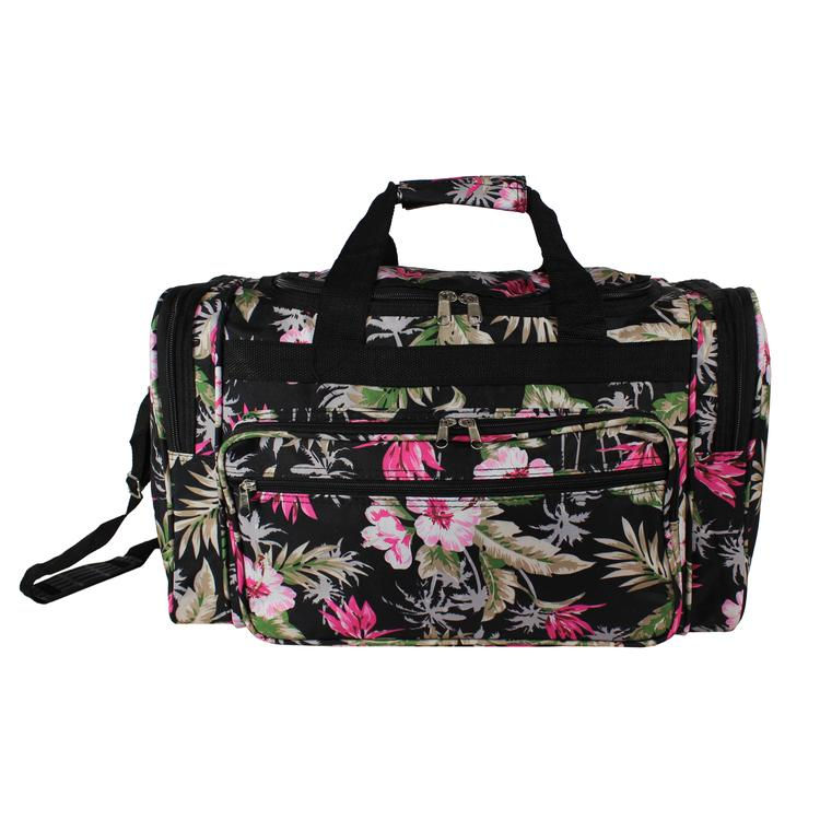 ec5f46ea6a World Traveler 22-Inch Carry-On Duffel Bag - Tropical Flowers