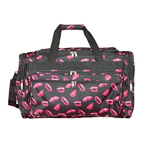 World Traveler 22-inch Travel Duffel Bag - Hot Lips