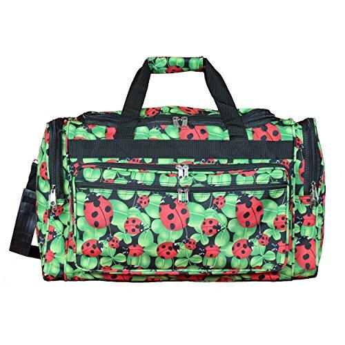 World Traveler 22-inch Travel Duffel Bag - Lady Bug