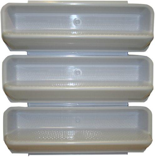 Pentair White ABS Steps Pool Specialty Fittings, Set of 3