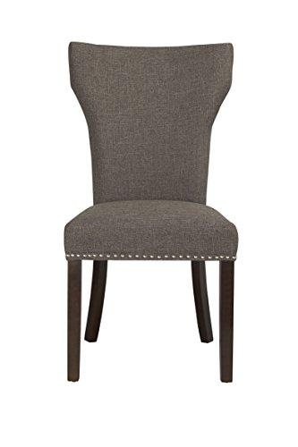 Monaco Parson Dining Chair, set of 2, Steel-Gray