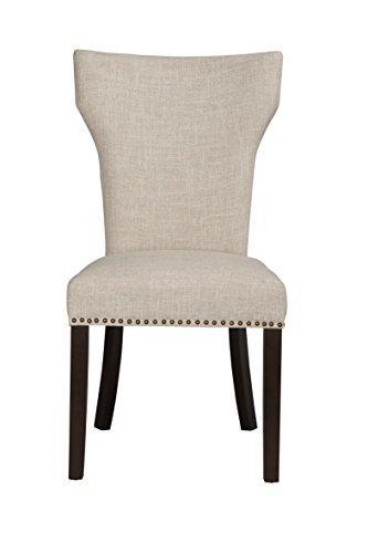 Monaco Parson Dining Chair, set of 2, White-Sand