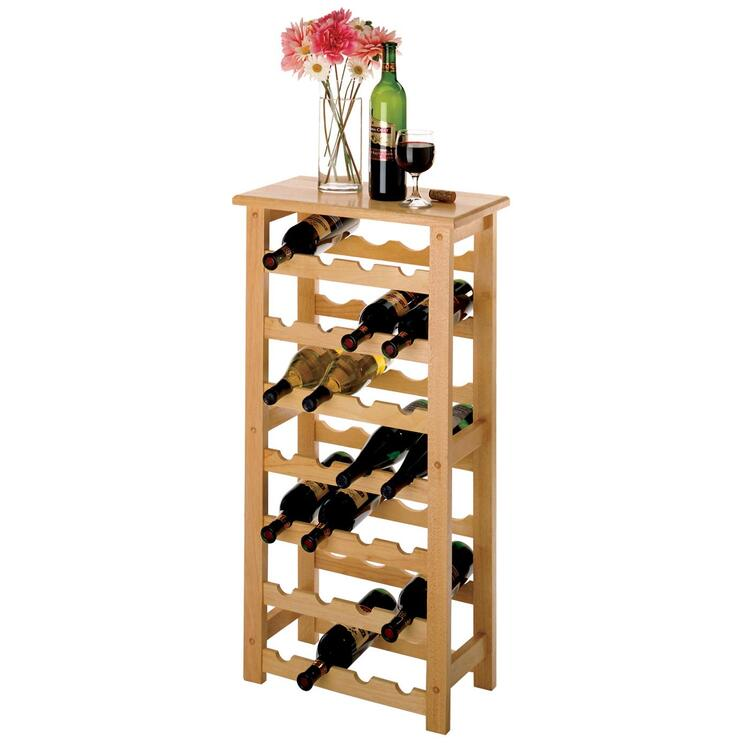 28-Bottle Wine Rack - Winsome - 83028