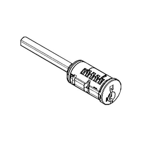 Kwikset 83373004 Black Smartkey Double Cylinder Without Housing Smart Key