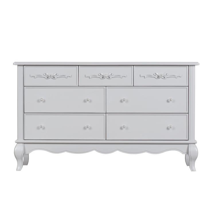 Evolur Aurora 7 Drawer Double Dresser
