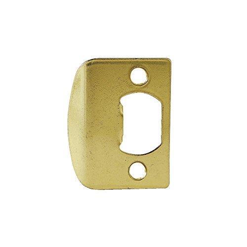 Kwikset 83437-3 Square Corner Full Lip Strike Bright Brass Finish