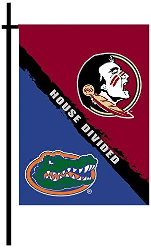 2-Sided Garden Flag - Rivalry House Divided