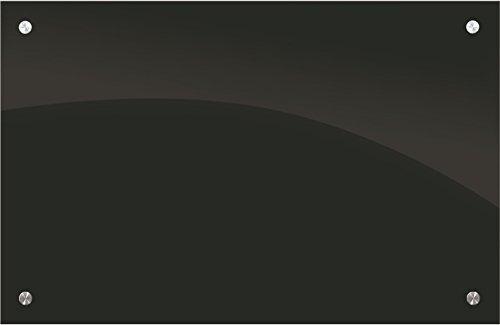 Enlighten? Glass Dry Erase Markerboard - Black