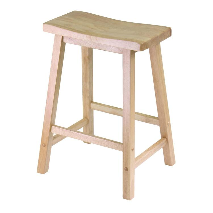 Winsome Wood Saddle Seat 24