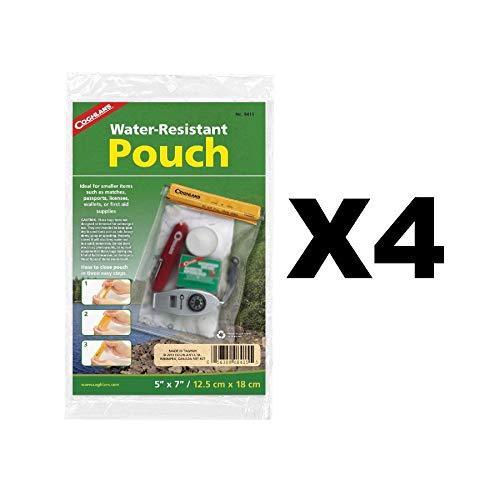 8415 Wtrproof Pouch 5X7