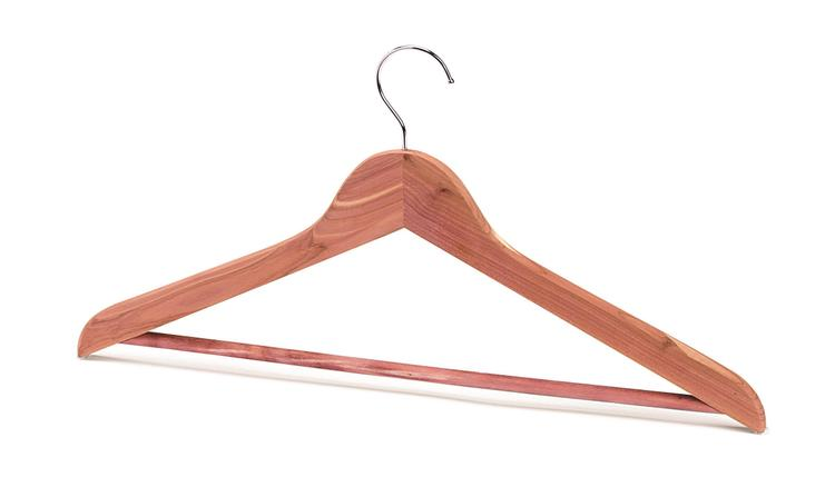 Woodlore Basic Hanger with Bar - Set of 10