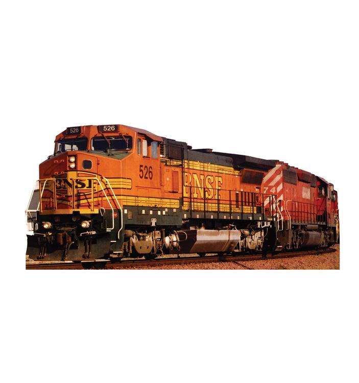 Advanced Graphics BNSF Train 526