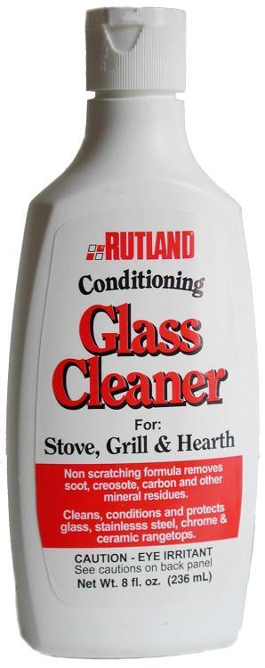 Rutland 84 Stove/Glass Cleaner 8Oz